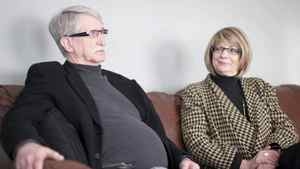 Cameron Kerr, left, and his wife Jane are shown at their home in Regina on Tuesday, Jan. 11, 2011, in Regina, Sask. A Saskatchewan farm couple whose land lies over the world's largest carbon capture and storage project says greenhouse gases that were supposed to have been injected permanently underground are leaking out, killing animals and sending groundwater foaming to the surface like shaken-up soda pop.