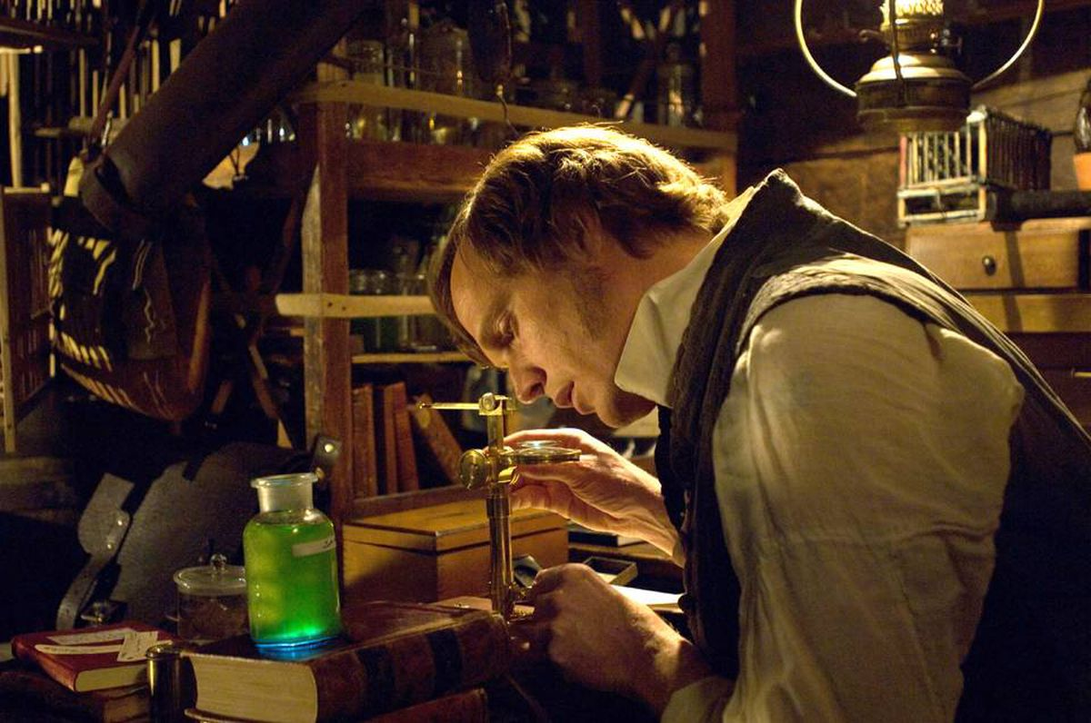 Paul Bettany as Charles Darwin in a scene from Creation.