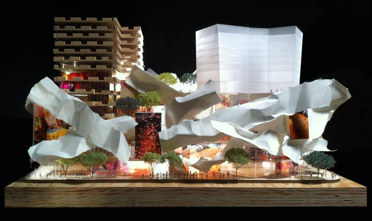 Courtesy of Gehry International Inc.