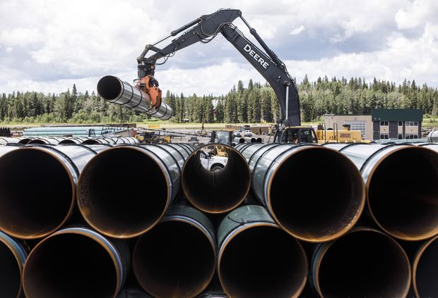 Federal government not planning to sell Trans Mountain so long as legal risks remain