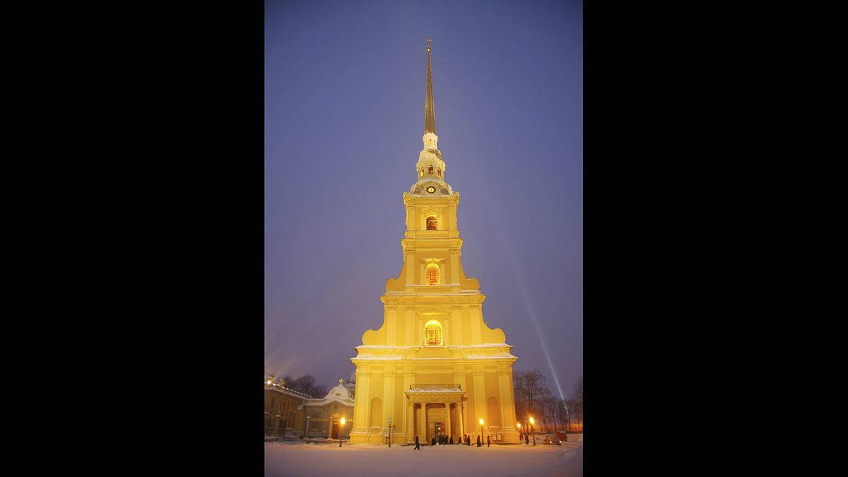 Philip Neelamegam photo: St Peter and St Paul Cathedral - Russia