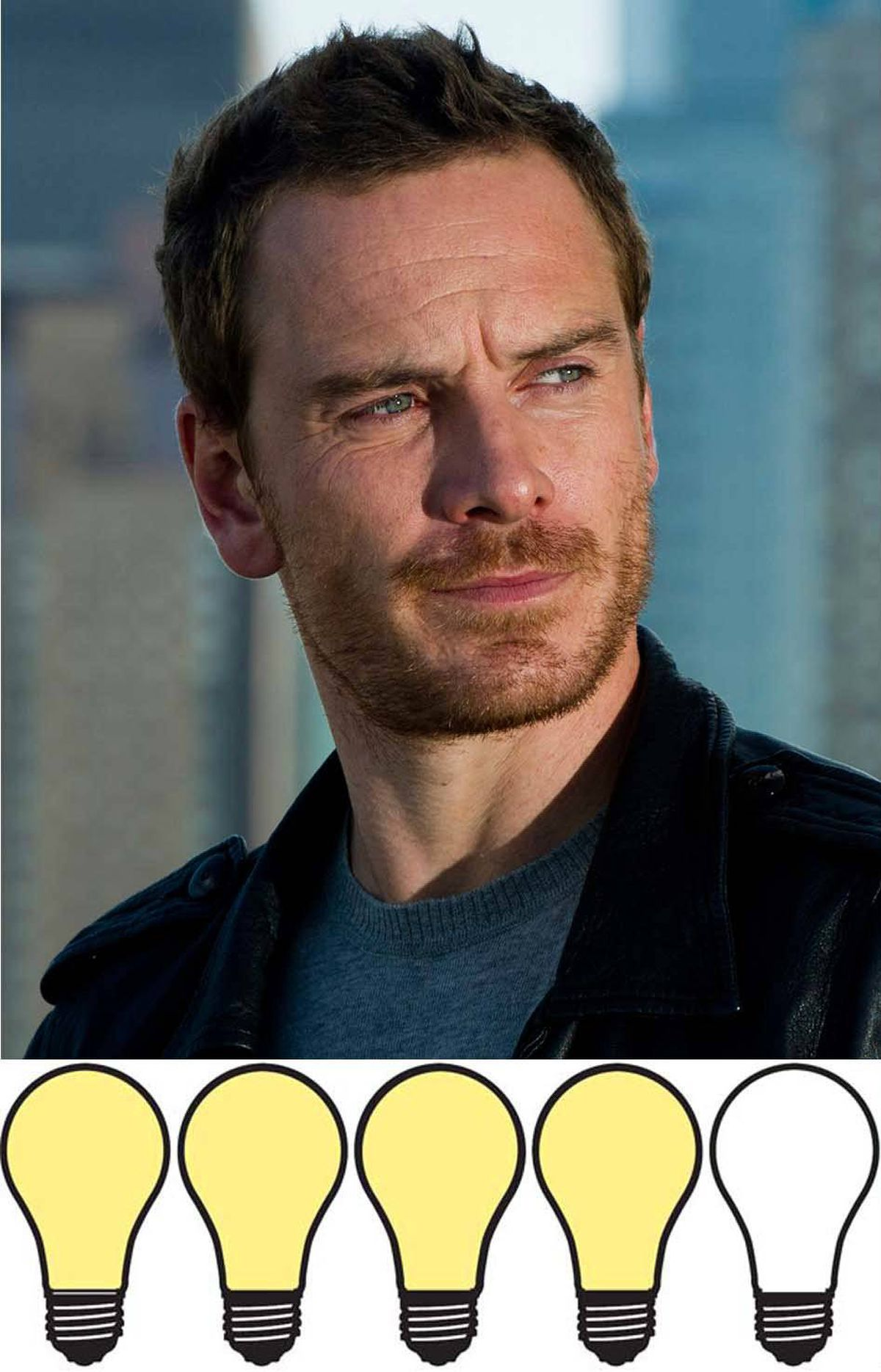 "BREAKOUT STAR: MICHAEL FASSBENDER 80 WATTS The world was introduced to the new Big Important Actor this year. His name is Michael Fassbender. Armie Hammer and Alexander Skarsgard may have been in the race for the title of ""breakout star,"" but they were both a far second compared to Fassbender. The 34-year-old Irish-German actor went from success to success, whether it was big budget summer movies (X-Men: First Class), moody period pieces (Jane Eyre) or art-house films (A Dangerous Method, Shame)."