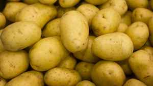 The price of potatoes rose by 20.7 per cent, year over year, in March.