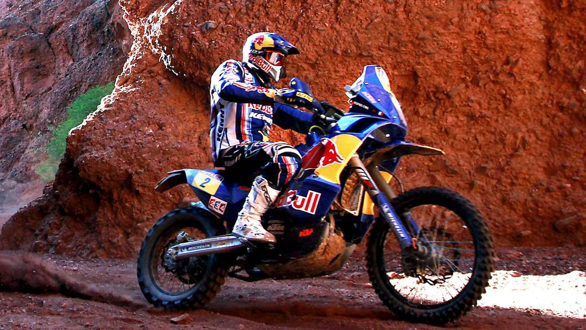 Cyril Despres of France rides his KTM during the third stage of the third South American edition of the Dakar Rally 2011 from Tucuman to Jujuy, January 4, 2011.