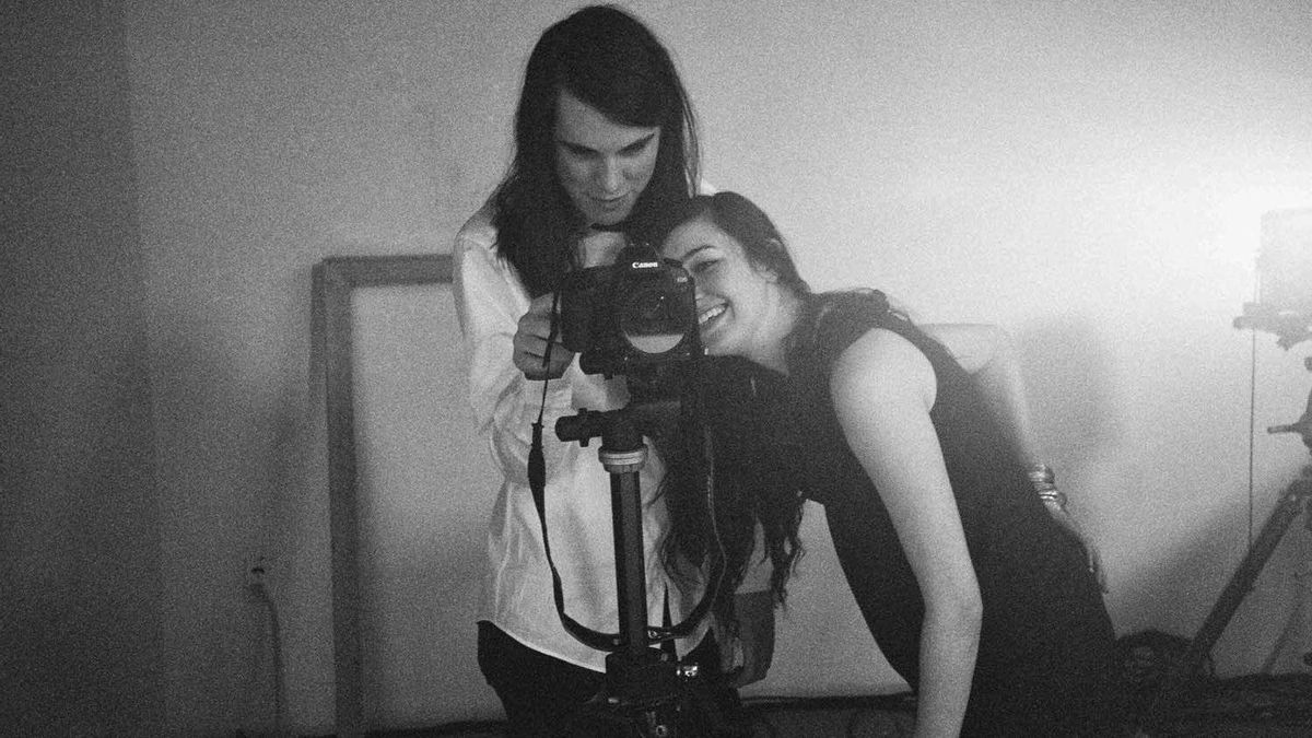 The Brooklyn-based duo Cults