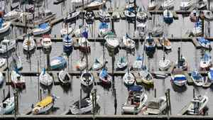 A 43-year-old marine mechanic is accused of stealing from 10 different marinas across the Lower Mainland.