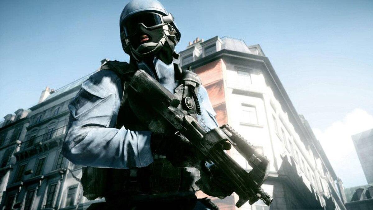 A screenshot of DICE and EA's Battlefield 3