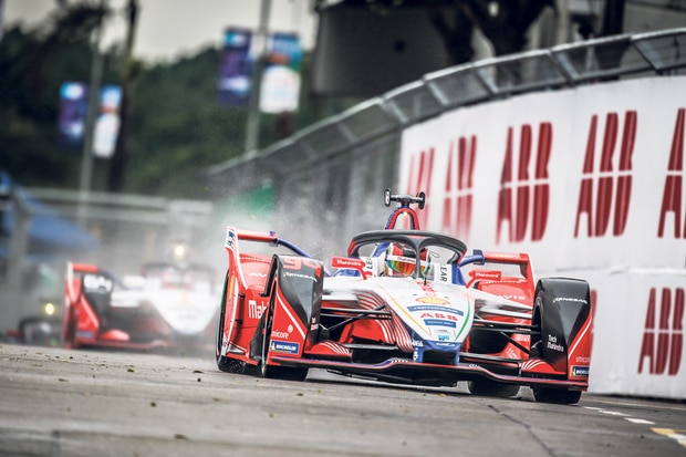Electric vehicles are catching international attention at ABB Formula E events, which take place at world capitals such as Paris, London, Seoul and Jakarta.