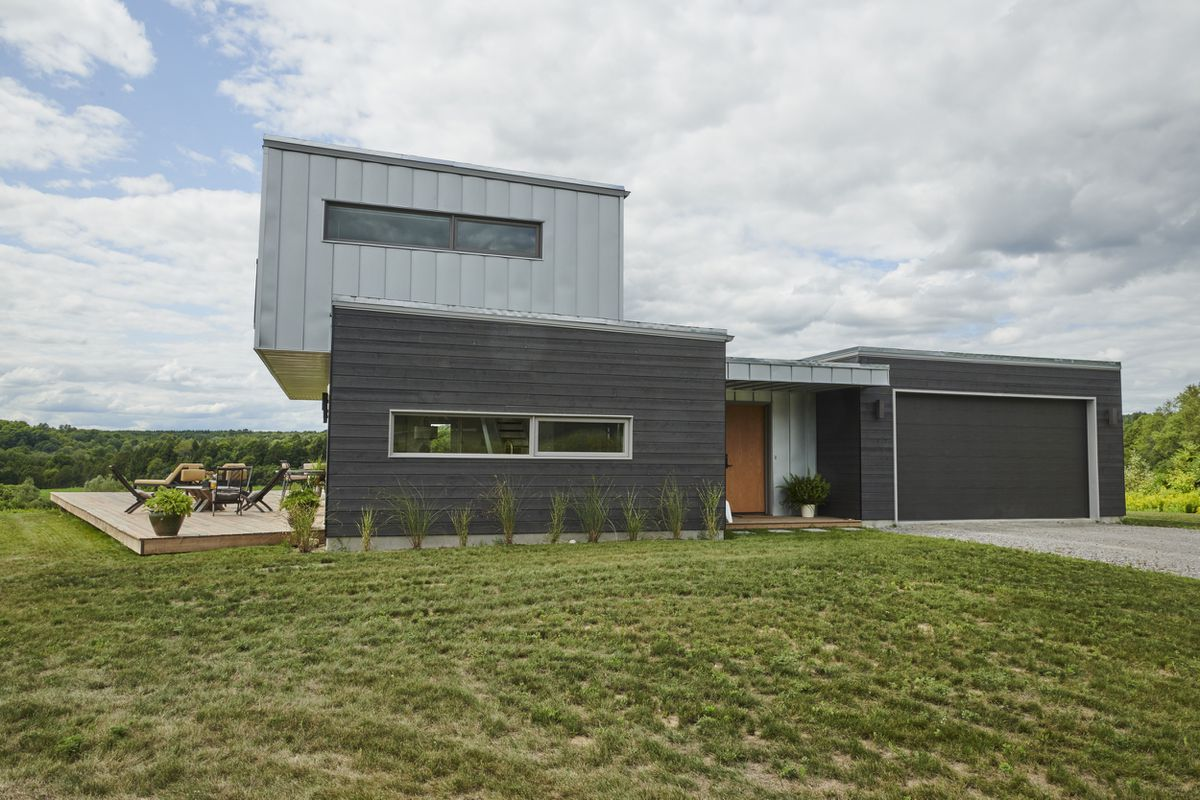 Meadow House: A cubic composition in the country - The Globe