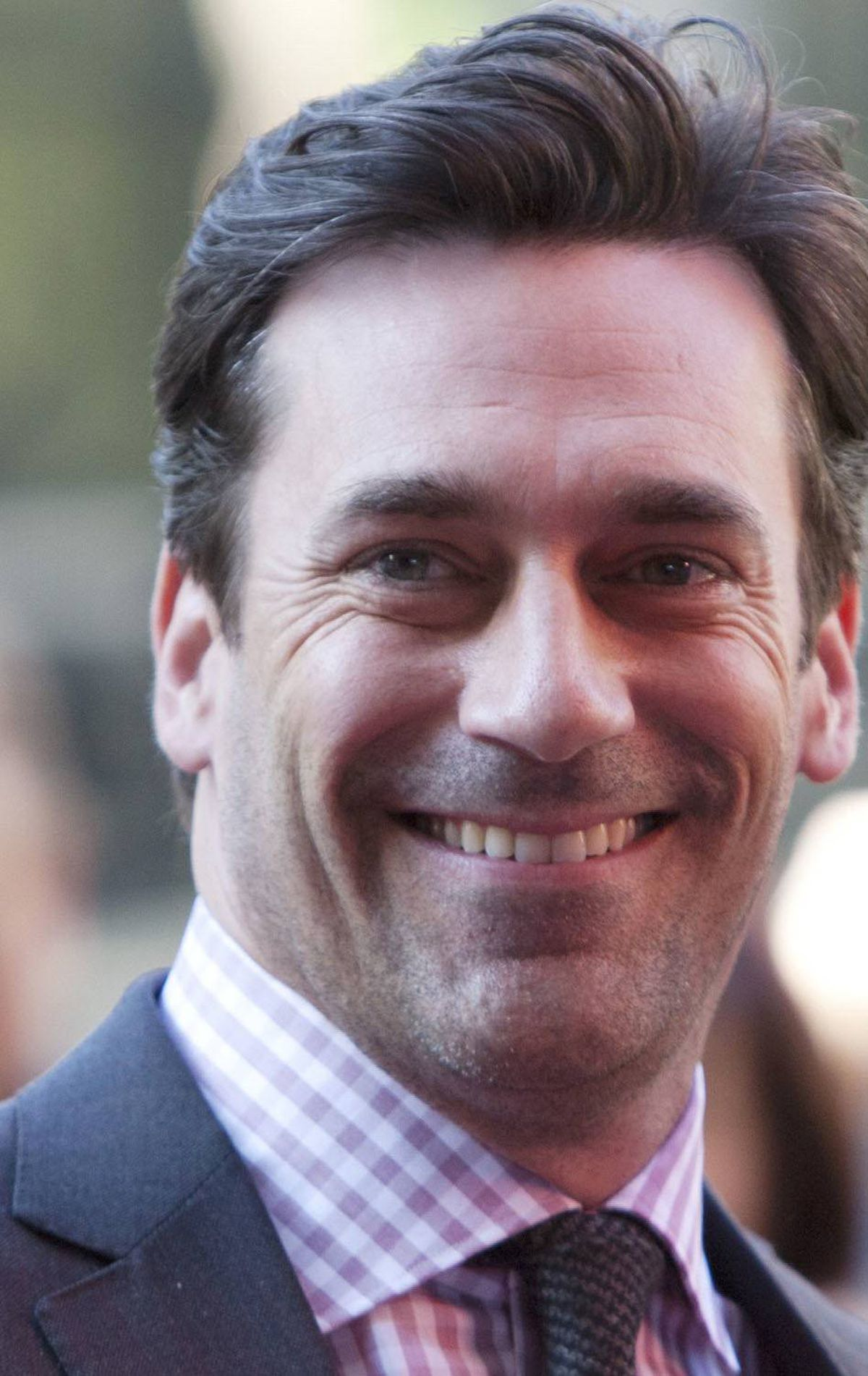 "Actor Jon Hamm arrives on the red carpet for the film ""Friends With Kids"" during the 36th Toronto International Film Festival in Toronto, September 9, 2011. TIFF runs from September 8-18. REUTERS/Mark Blinch"