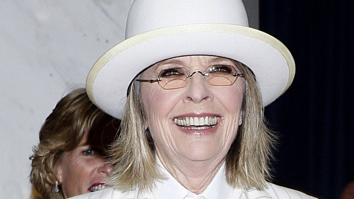 Actress Diane Keaton arrives for the White House Correspondents' Association (WHCA) dinner in Washington, D.C., U.S., on Saturday, April 28, 2012.