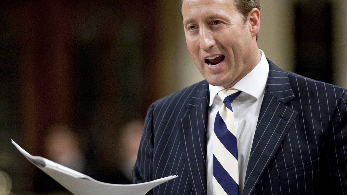 Defence Minister Peter MacKay speaks during Question Period in the House of Commons on Nov. 15, 2010.