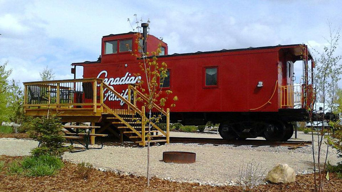 Attention Train Lovers You Know You Want To Sleep In A