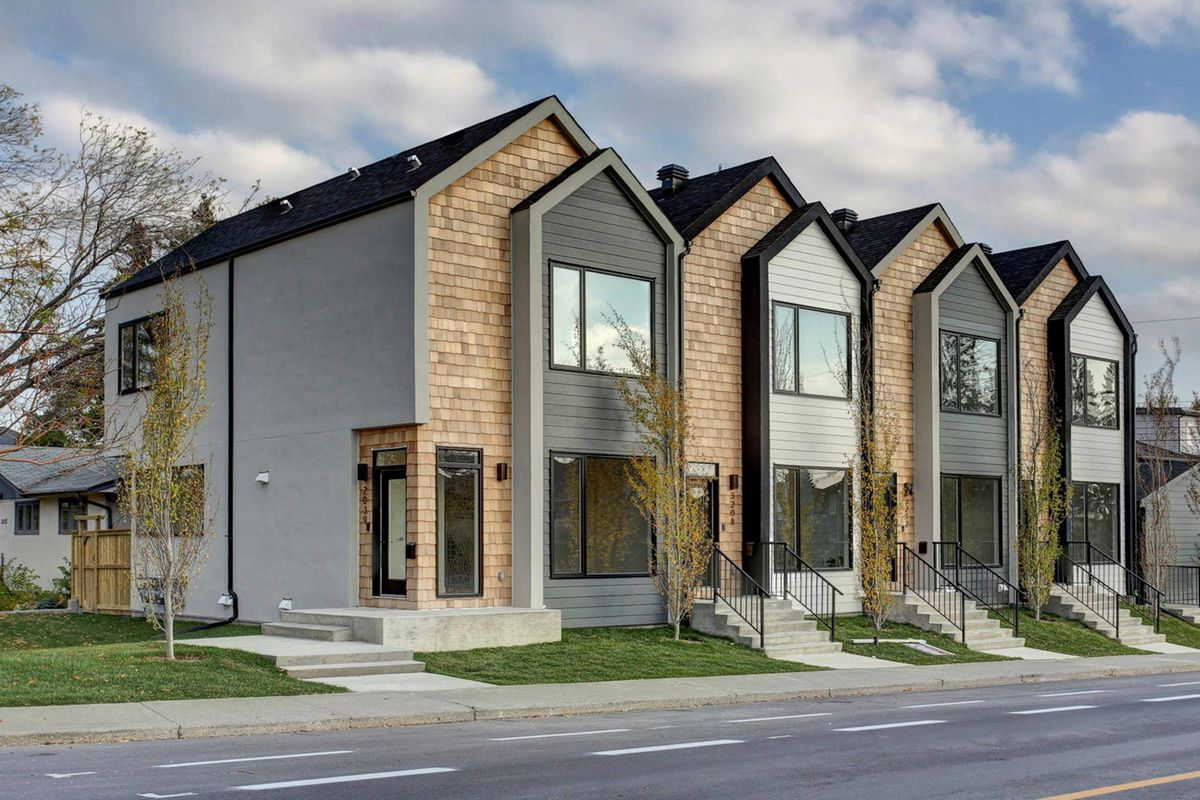 Modern Calgary Townhouse Breaks Record Price The Globe