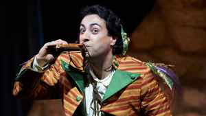 Rodion Pogossov as Papageno in the Canadian Opera Company production of The Magic Flute, 2011.