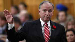 Justice Minister Rob Nicholson in the House of Commons on Nov. 1.