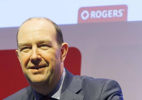 Rogers CEO hopes Spotify partnership will increase mobile data usage