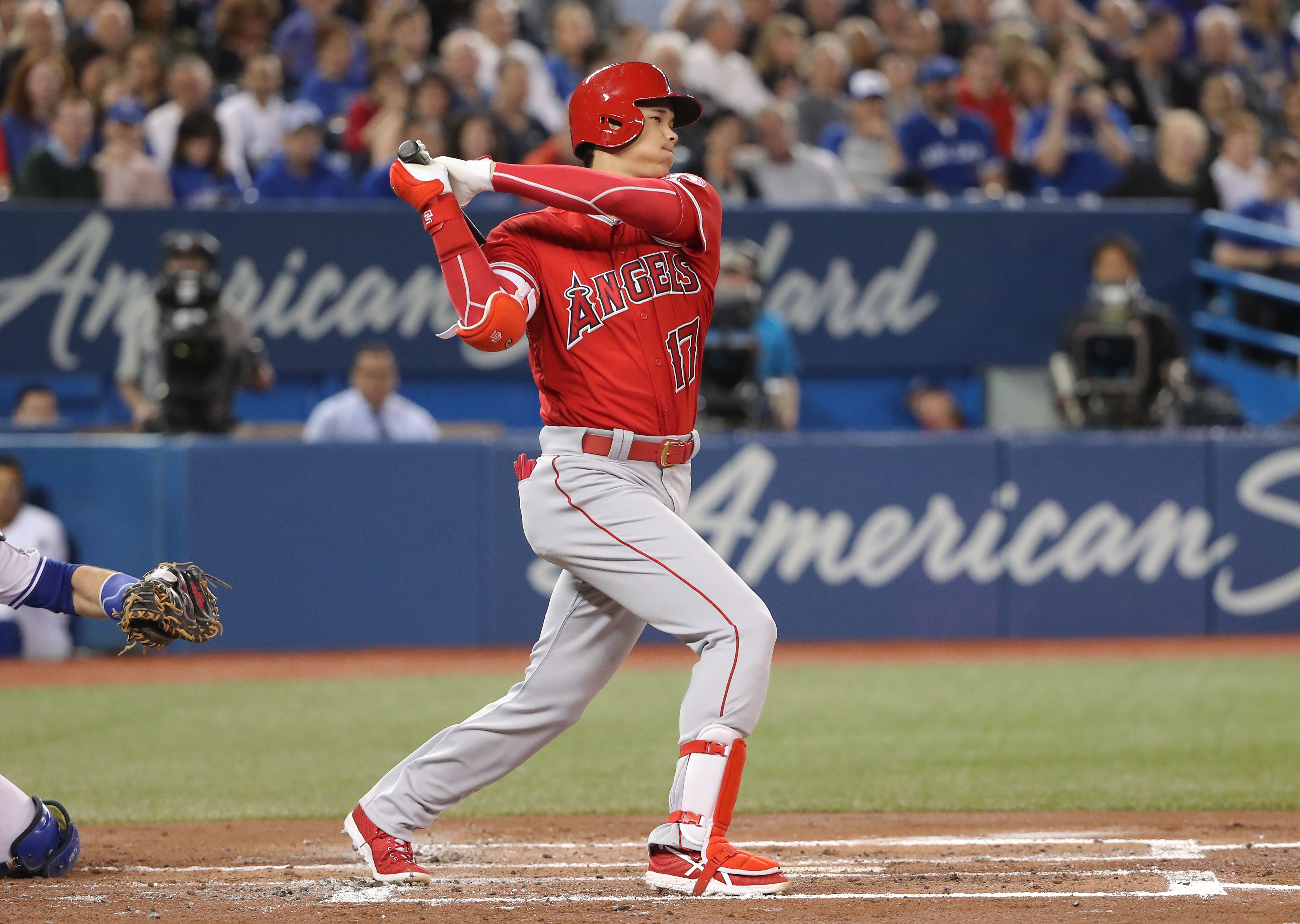 All eyes on two-way star Shohei Ohtani for series between Blue Jays