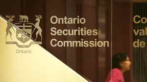 Lobby of the Ontario Securities Commission on Tuesday, May 8, 2007.