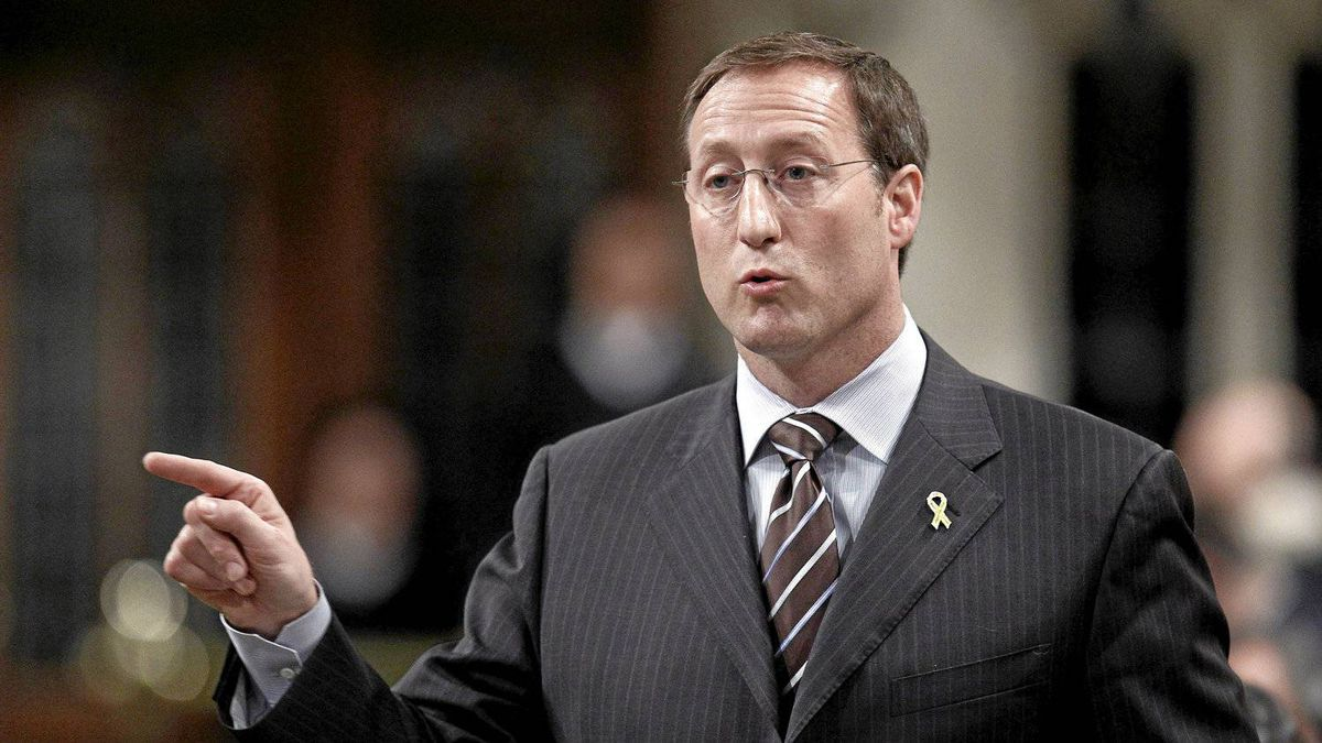 Canada's Defence Minister Peter MacKay speaks during Question Period in the House of Commons on Parliament Hill in Ottawa May 3, 2012.