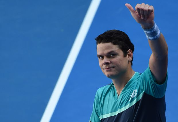 Raonic beats racket-wrecking Zverev to reach Aussie Open quarterfinals