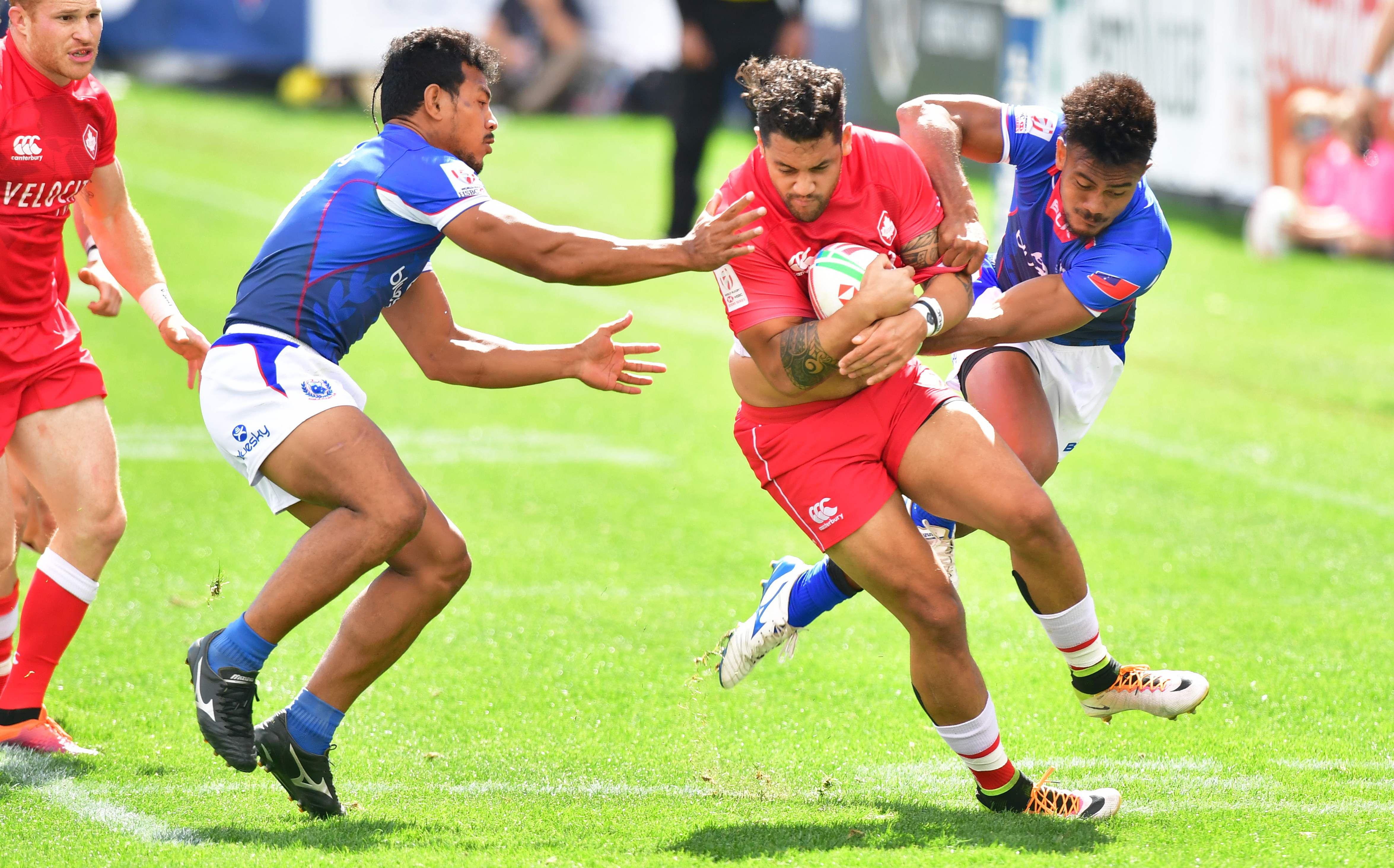 Canadian comeback falls short in narrow loss to Samoa at USA Sevens