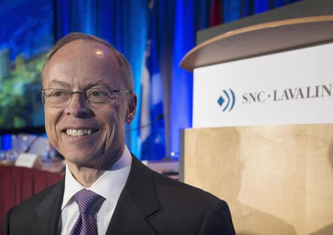 SNC to give departing ex-CEO Robert Card $9.2-million