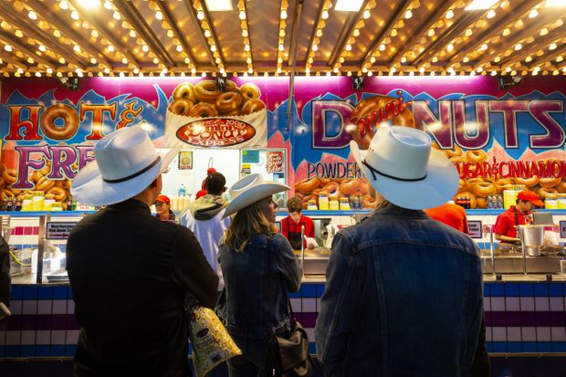 Those Little Donuts No More Long Time Calgary Stampede