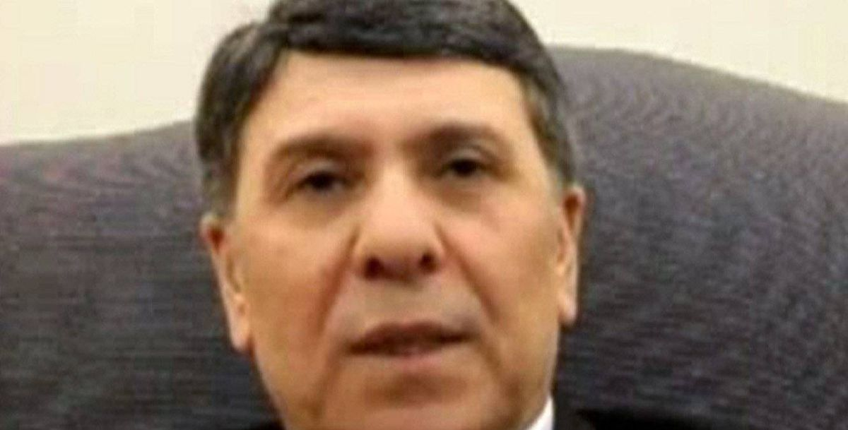 Image taken from a social media website purporting to be Syrian deputy oil minister Abdo Hussameldin announcing his defection from an undisclosed location.