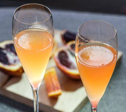 The Quick Fix: Blood Orange Cocktail