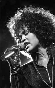 Pop star Whitney Houston performed at Toronto's Canadian National Exhibition grounds Aug 30, 1987.