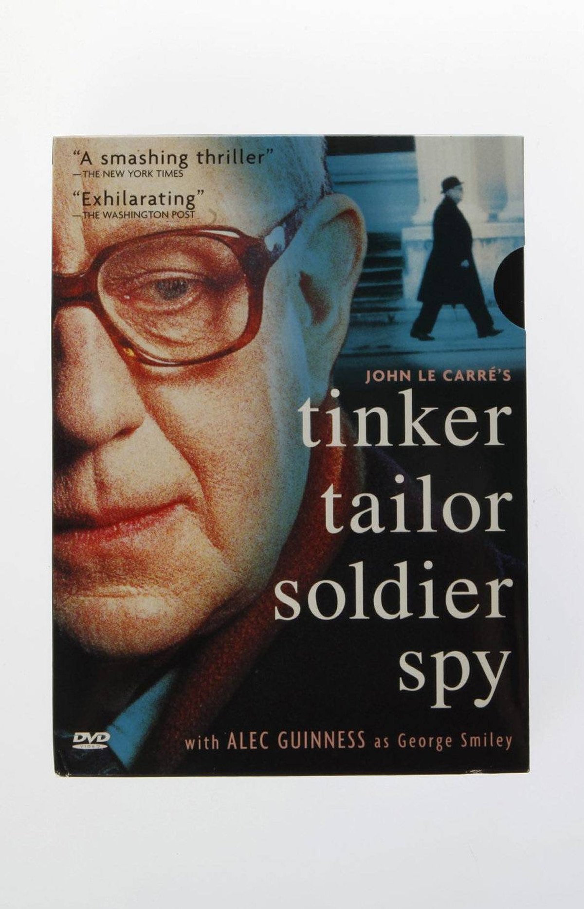 Tinker Tailor Soldier Spy This season sees the feature-film release of John le Carré's Cold War classic, with Gary Oldman as the agent George Smiley. The new movie is terrific, but so was a much fuller adaptation back in 1979, when the BBC aired a 7-part miniseries with the great Alec Guinness wearing the Smiley face. Both productions are steeped in the bureaucratic and nicotine-stained venality of the era. $44.95 at amazon.ca