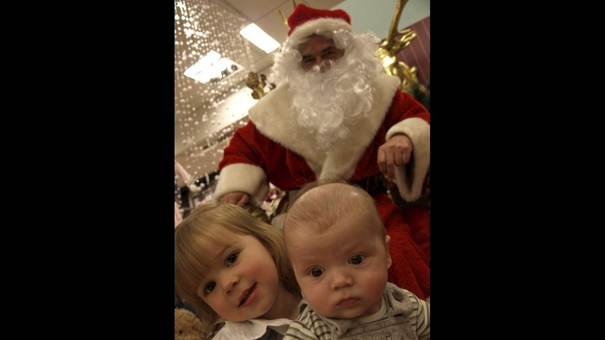 Catherine Brosha photo: Worst Santa Ever - 2 years ago, we had the lamest Santa ever. He looked like Billy Bob in Bad Santa and the children weren't allowed on his lap - they had to sit on a stool at his feet. Fake beard, dirty robe - yech!