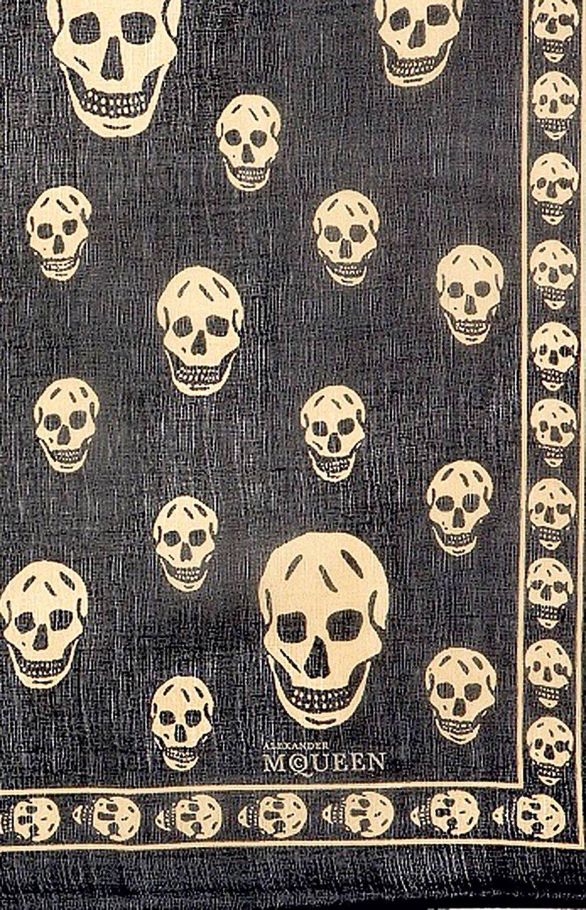 Signature motif McQueen: Skulls
