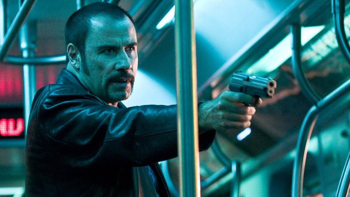 Initially, Travolta's performance feels over the top, but it improves as the movie progresses.