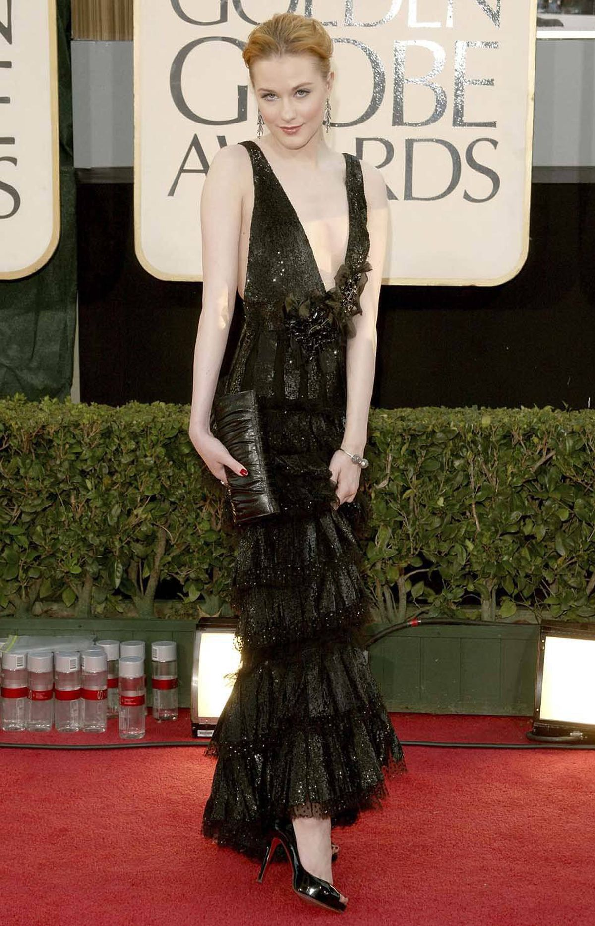"Actress Evan Rachel Wood has a role in George Clooney's ""The Ides of March."""