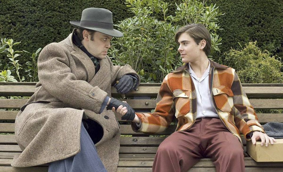 Christian McKay and Zac Efron: It may look like a cable production and makes no attempt to evoke New York in the thirties, but the film has a great ace up its sleeve – the character of Orson Welles.