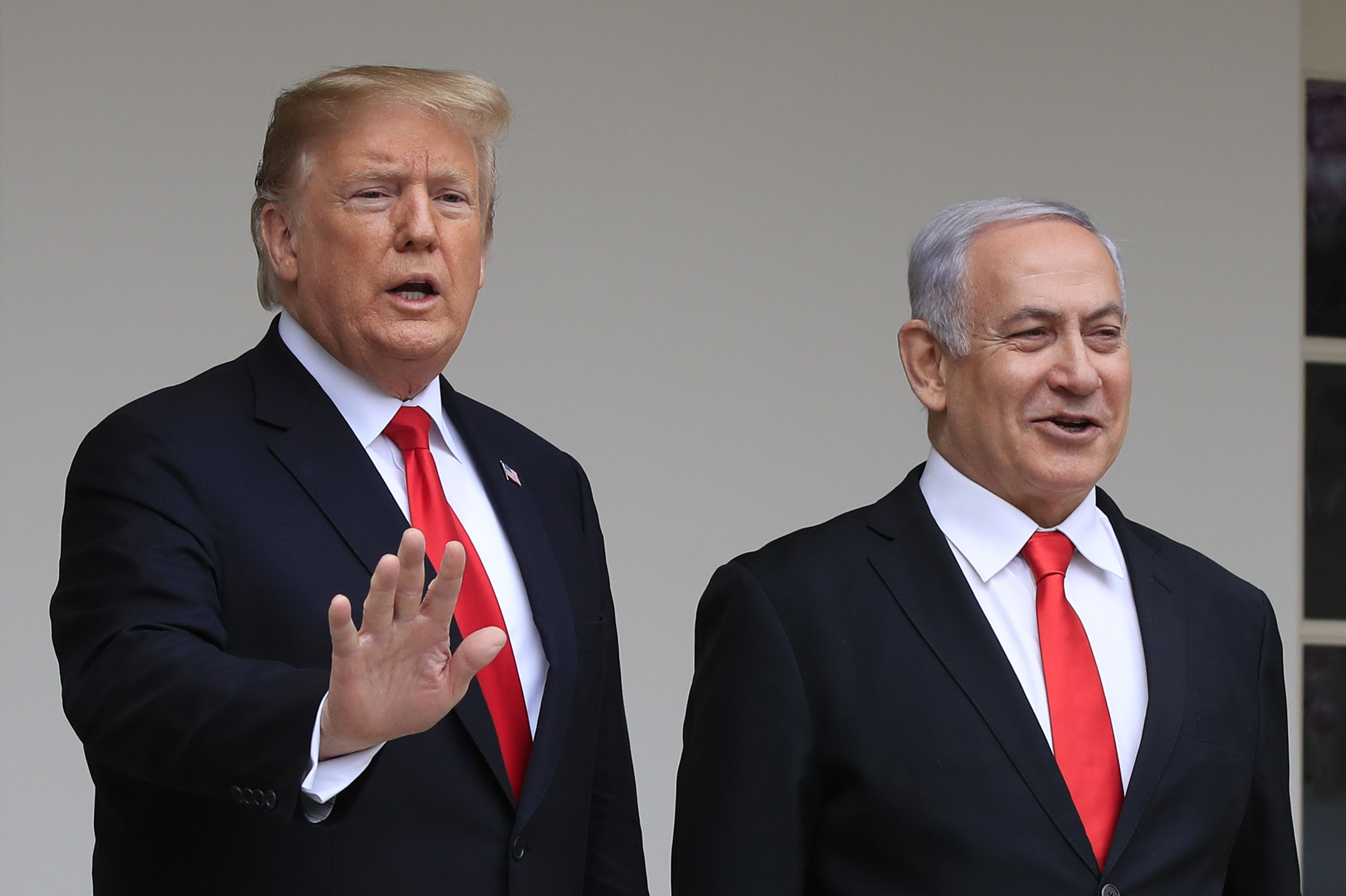 Israel to name new community on the Golan Heights after Trump, Netanyahu says
