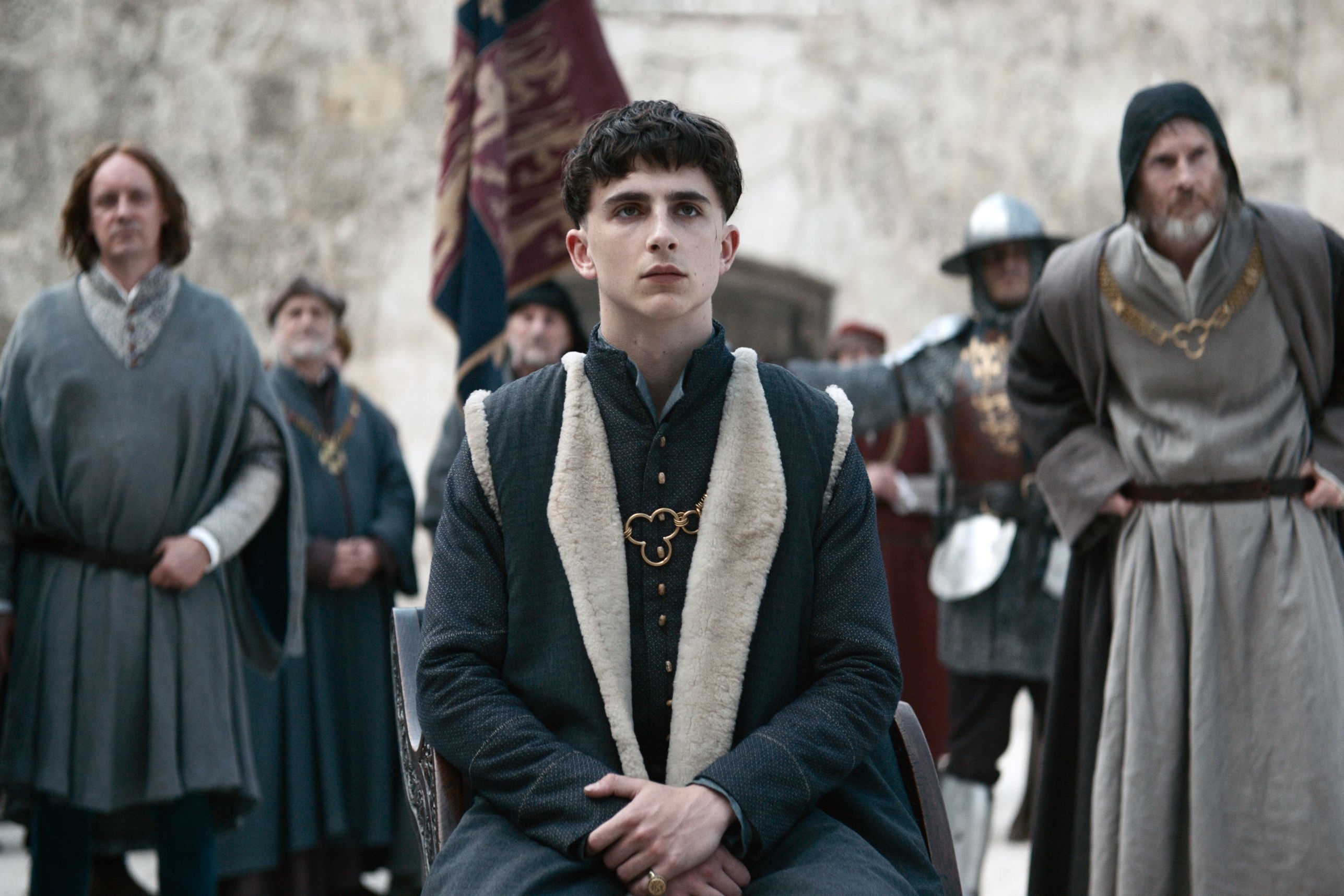 Netflix's The King treads familiar historical waters, except when a very French Robert Pattinson prances on screen