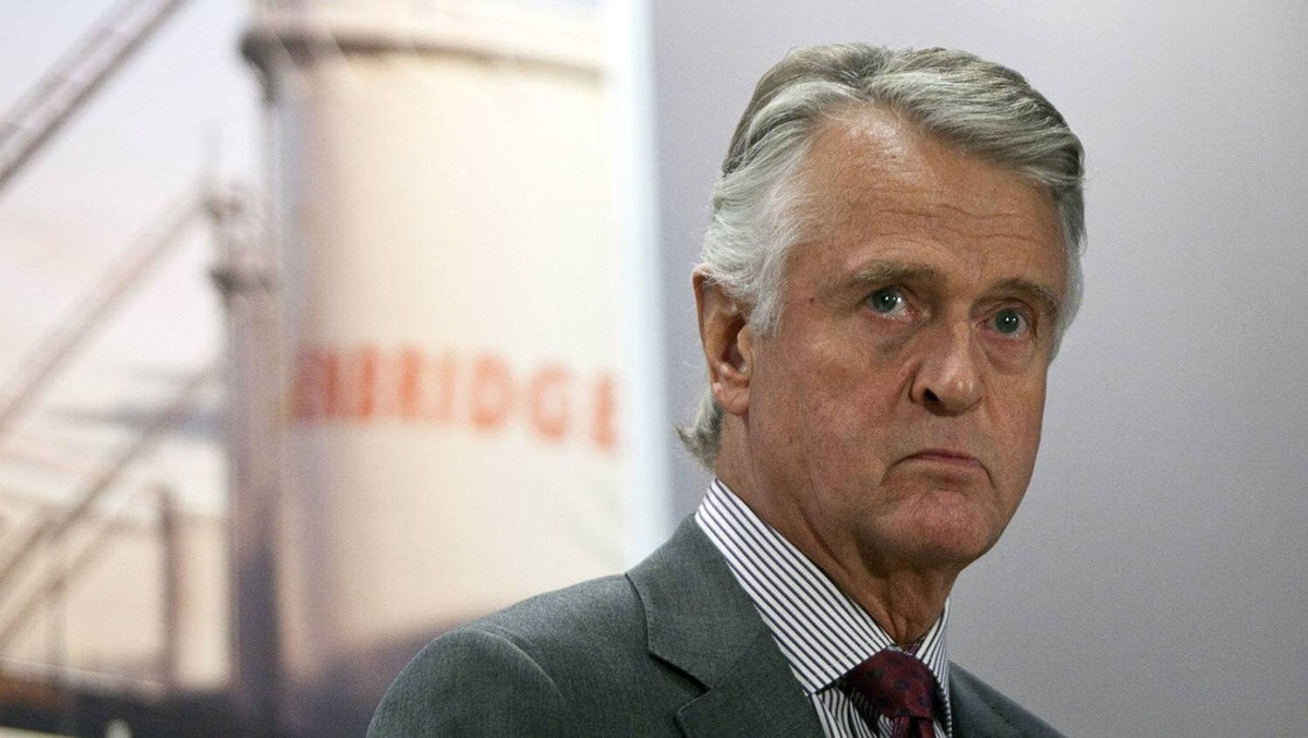 Enbridge says CEO Patrick Daniel will retire later this year.