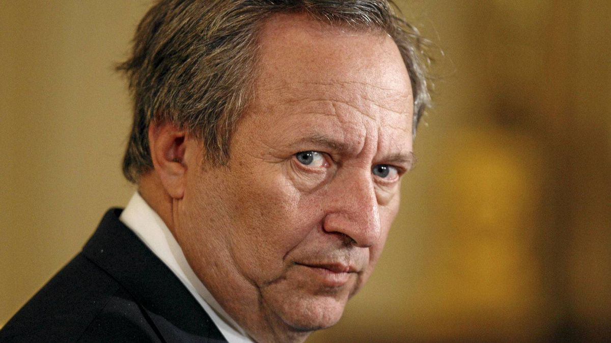 Former U.S. National Economic Council Director Lawrence Summers is shown in this 2009 photo taken in the East Room of the White House.
