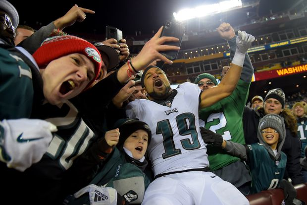 eagles get some help grab nfc wild card the globe and mail