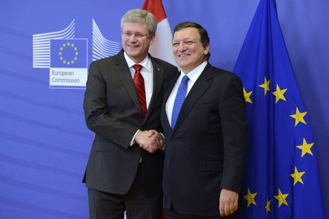 Despite the pronouncements canada eu trade deal not set in stone president of the european commission jose manuel barroso in brussels on friday oct 18 2013 after announcing a free trade agreement between canada and platinumwayz