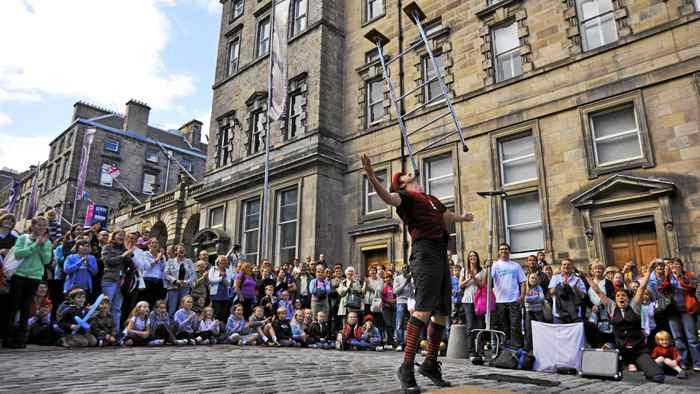 The Edinburgh Festival Fringe.