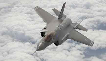 Lockheed F-35 AF1 joint strike fighter.