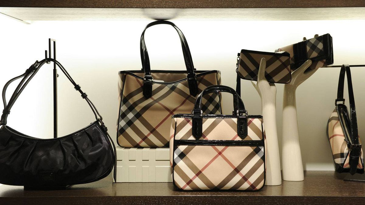 Bags and accessories. Various photos of the new Burberry store on Bloor St West. This is the second store in Toronto with the other at Yorkdale Mall.