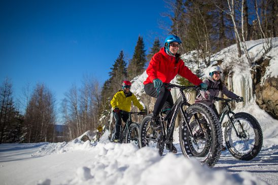 Travel news: Ice biking debuts in Canada at Calgary's Bowness Park