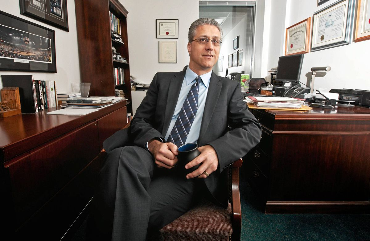 John DeGoey, a certified financial planner, portfolio manager and associate portfolio manager with Burgeonvest Securities of Toronto is seen in his office on April 7, 2011. JENNIFER ROBERTS FOR THE GLOBE AND MAIL