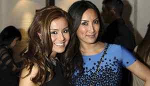 CP24's Melissa Grelo and etalk's Tanya Kim