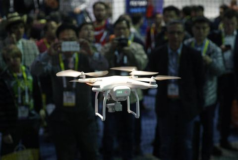 Commercial drones capture the attention of insurance industry